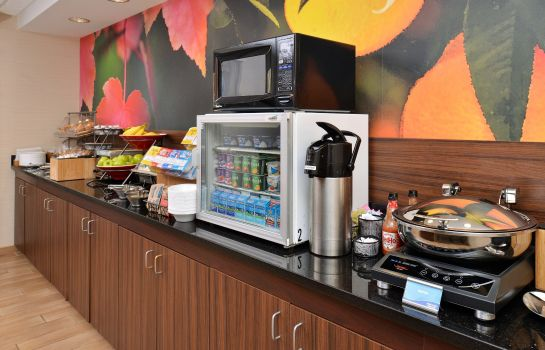 Hotel bar Fairfield Inn & Suites Kenner New Orleans Airport