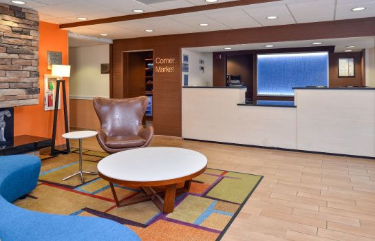 Lobby Fairfield Inn & Suites Kenner New Orleans Airport