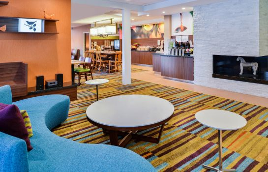 Hotelhalle Fairfield Inn & Suites Beaumont