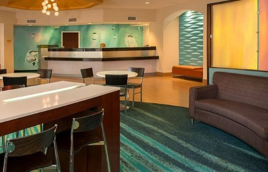 Lobby SpringHill Suites Raleigh-Durham Airport/Research Triangle Park