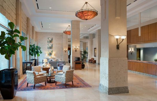 Hol hotelowy Dallas/Plano Marriott at Legacy Town Center