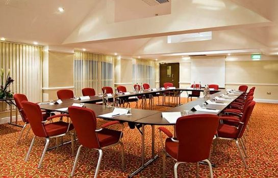 Conference room Manchester Airport Marriott Hotel
