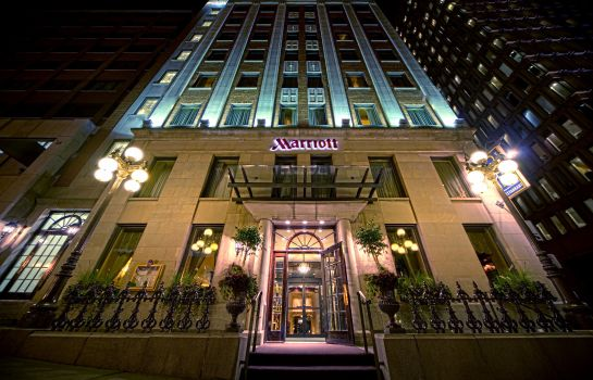Außenansicht Quebec City Marriott Downtown