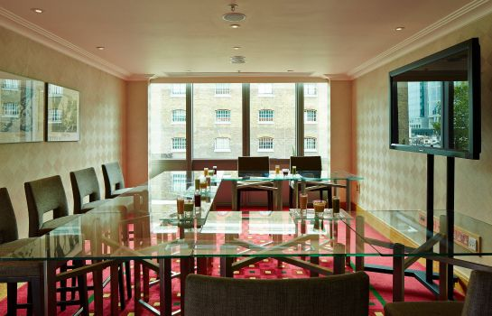 Sala de reuniones London Marriott Hotel West India Quay