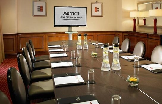 Sala congressi London Marriott Hotel Maida Vale