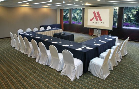 Conference room Marriott Puebla Hotel Meson del Angel