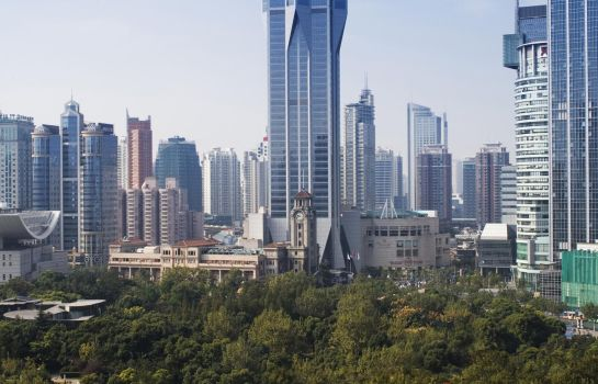 Exterior view JW Marriott Hotel Shanghai at Tomorrow Square