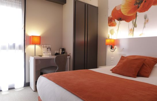 Single room (standard) Best Western Crequi Lyon Part Dieu