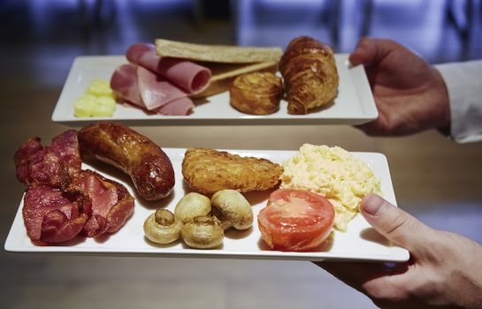 Buffet prima colazione ibis London Euston Station - St Pancras International