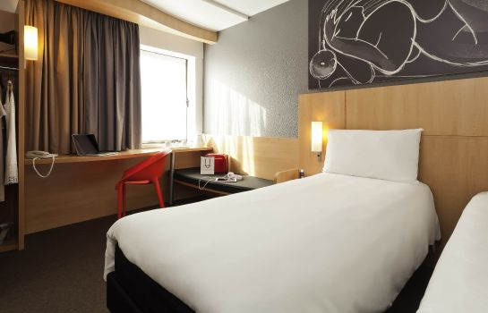 Zimmer ibis London Euston Station - St Pancras International