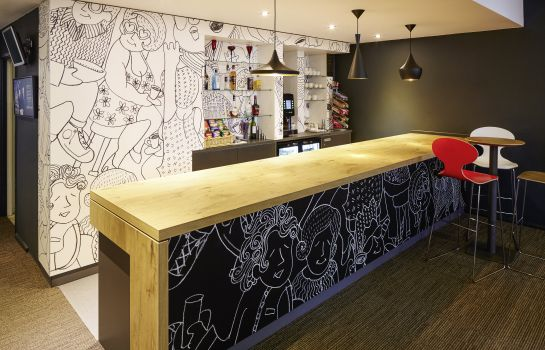 Bar del hotel ibis London Greenwich