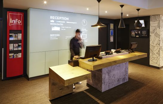 Reception ibis London Greenwich
