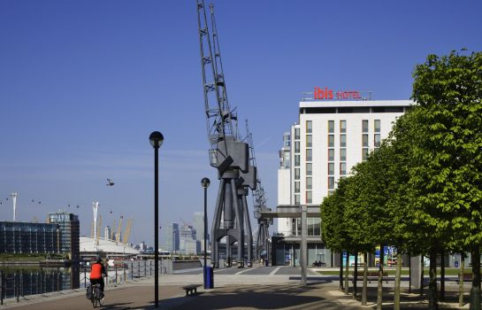 Vista esterna ibis London Excel Docklands