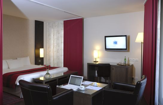 Junior suite Best Western Hotel du Pont Wilson