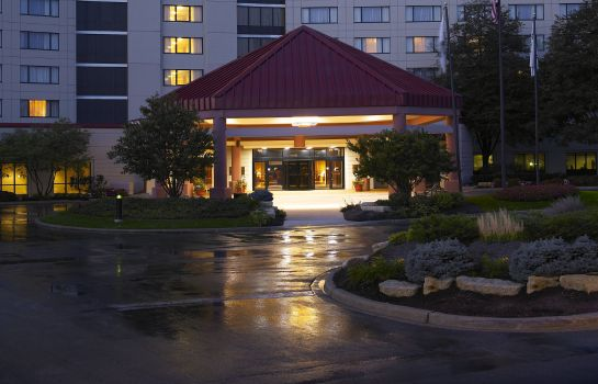 Widok zewnętrzny Hilton Chicago-Oak Brook Hills Resort - Conference Center