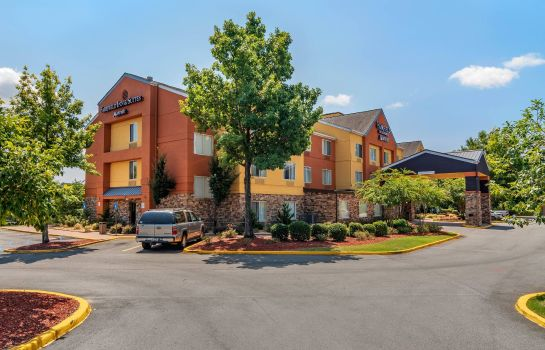Außenansicht Fairfield Inn Macon West