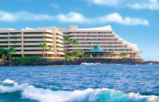 Exterior view Royal Kona Resort