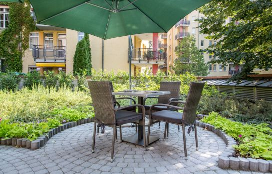 Tuin Corvin Hotel Budapest Sissi wing ***
