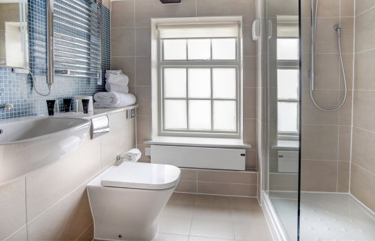 Bagno in camera Cambridge Quy Mill Hotel & Spa Best Western Premier Collection