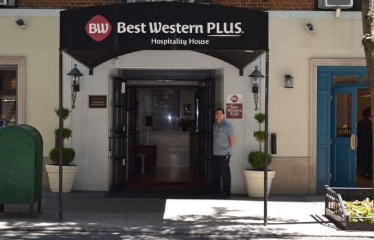 Exterior view Best Western Plus Hospitality House