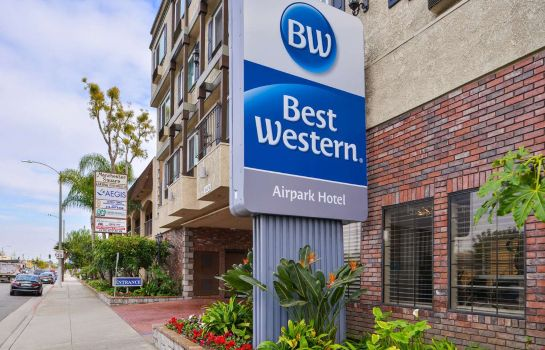 Vue extérieure Best Western Airpark Hotel-Los Angeles LAX Airport