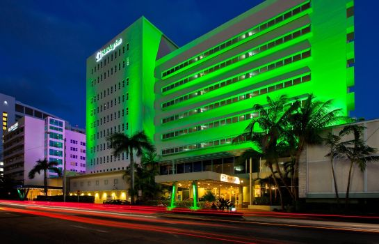 Vista exterior Holiday Inn MIAMI BEACH-OCEANFRONT