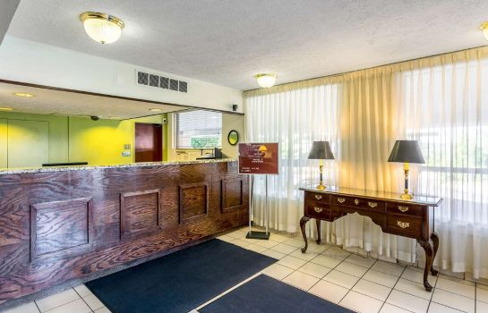 Hall de l'hôtel Motel 6 Edgewood