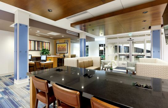 Hotelhalle Holiday Inn Express & Suites STURBRIDGE