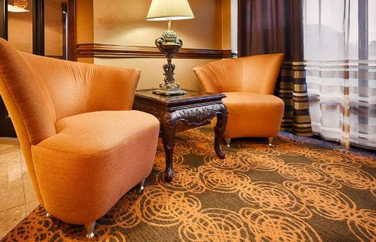 Hotelhalle Best Western Plus Greensboro Airport Hotel