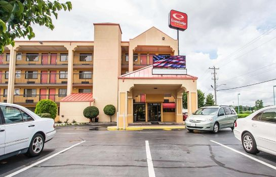 Vista esterna Econo Lodge Inn & Suites Memphis