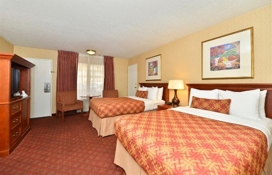 Zimmer BEST WESTERN PLUS ANAHEIM INN
