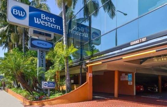 Vista exterior Best Western Hollywood Plaza Inn-Hollywood Walk of Fame Hotel