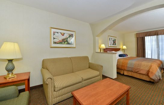 Suite BW PLUS AIRPORT INN AND SUITES