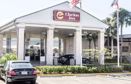 Außenansicht Clarion Inn and Conference Center Tampa-Brandon
