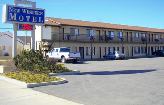 Vista exterior NEW WESTERN MOTEL PANGUITCH