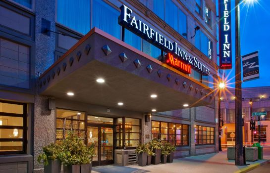 Außenansicht Fairfield Inn & Suites Milwaukee Downtown