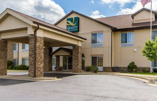 Buitenaanzicht Quality Inn and Suites Lodi