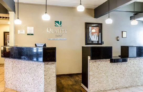 Hotelhalle Quality Inn Buffalo