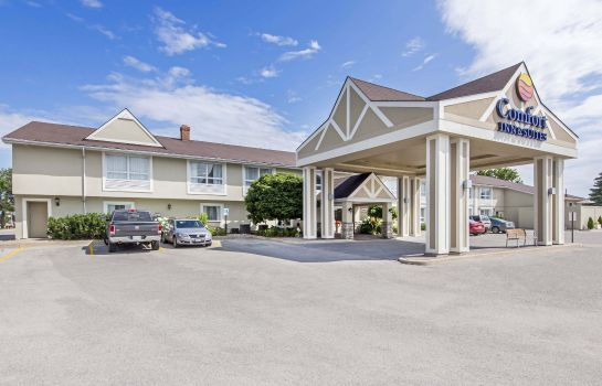 Vista esterna Comfort Inn & Suites Collingwood