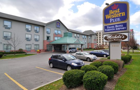 Vista exterior Best Western Plus Travel Hotel Toronto Airport