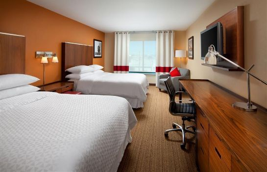Zimmer Four Points by Sheraton Hotel & Suites San Francisco Airport