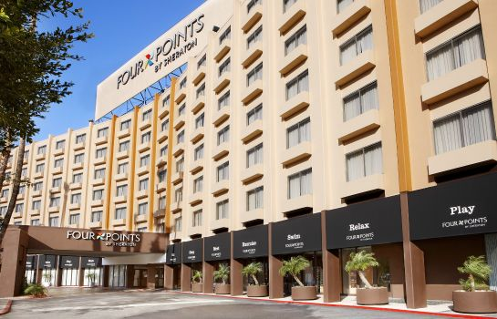 Vista exterior Four Points by Sheraton Los Angeles International Airport