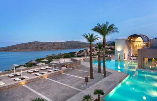 Hotel bar Crete  a Luxury Collection Resort and Spa Blue Palace