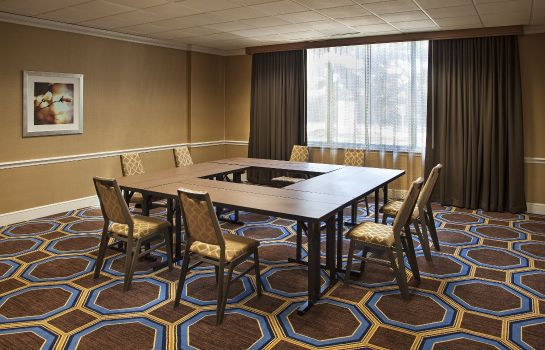 Conference room Sheraton Suites Houston Near The Galleria