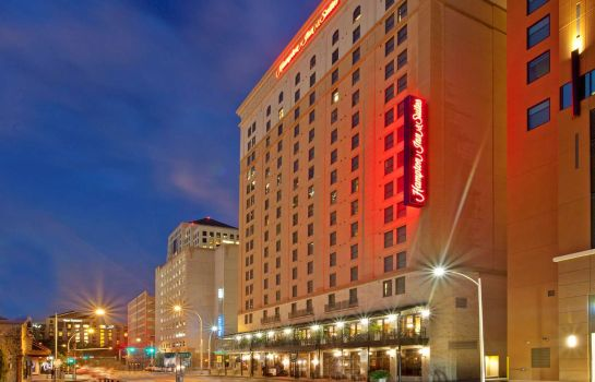 Buitenaanzicht Hampton Inn - Suites Austin-Downtown-Convention Center TX