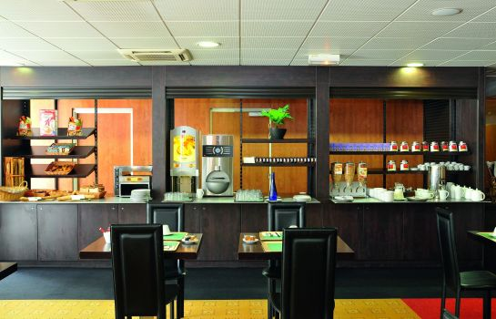 Sala colazione Quality Suites Bordeaux Aeroport And Spa