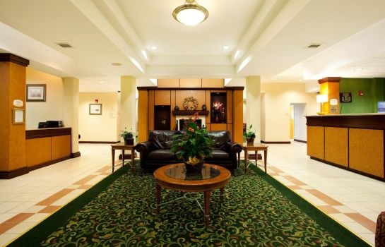 Hotelhalle Holiday Inn Express NEW ORLEANS EAST