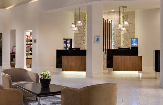 Hotelhalle Houston Marriott South at Hobby Airport