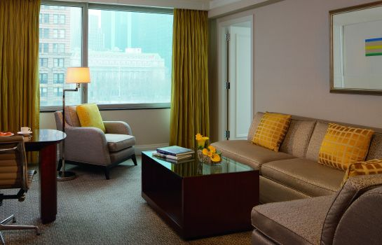 Vestíbulo del hotel The Ritz-Carlton New York Battery Park