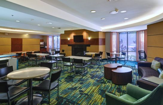 Hotel bar SpringHill Suites Dallas NW Highway at Stemmons/I-35E